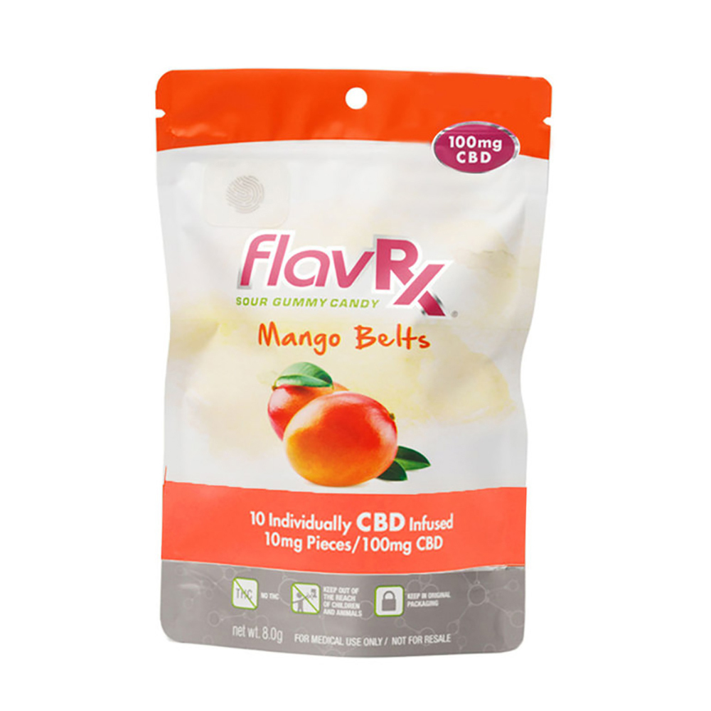 1:1 Mango Belts [10pk] (100mg CBD/100mg THC) | Flav | Chews - Jane